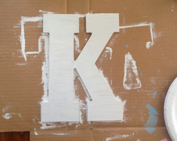 how to make fading letters