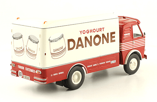 Pegaso Z-207 Barajas 1959 Danone 1:43 vehiculos de reparto y servicio salvat