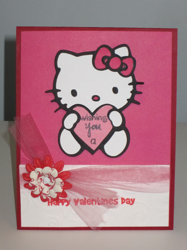 Creative Diva: Hello Kitty Valentine Card