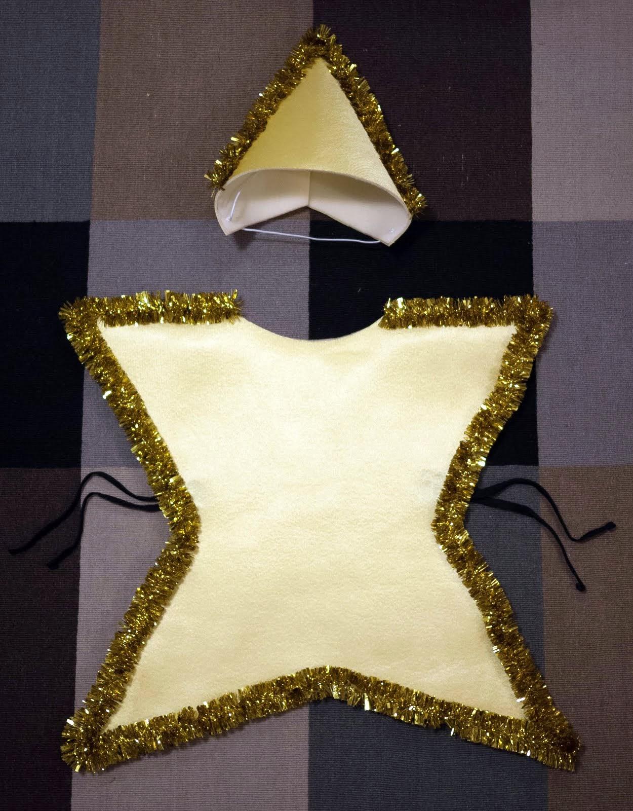 No Sin Mis Hijos Como Hacer Un Disfraz De Estrella Facil Y Sin Coser - Como-hacer-disfraces-de-navidad