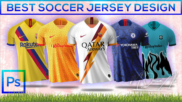 Download Free Nike Mockup_Best Soccer Jersey Mockup Design Tutorial ...