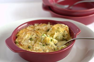 coccottina di patate e verdure gratinate