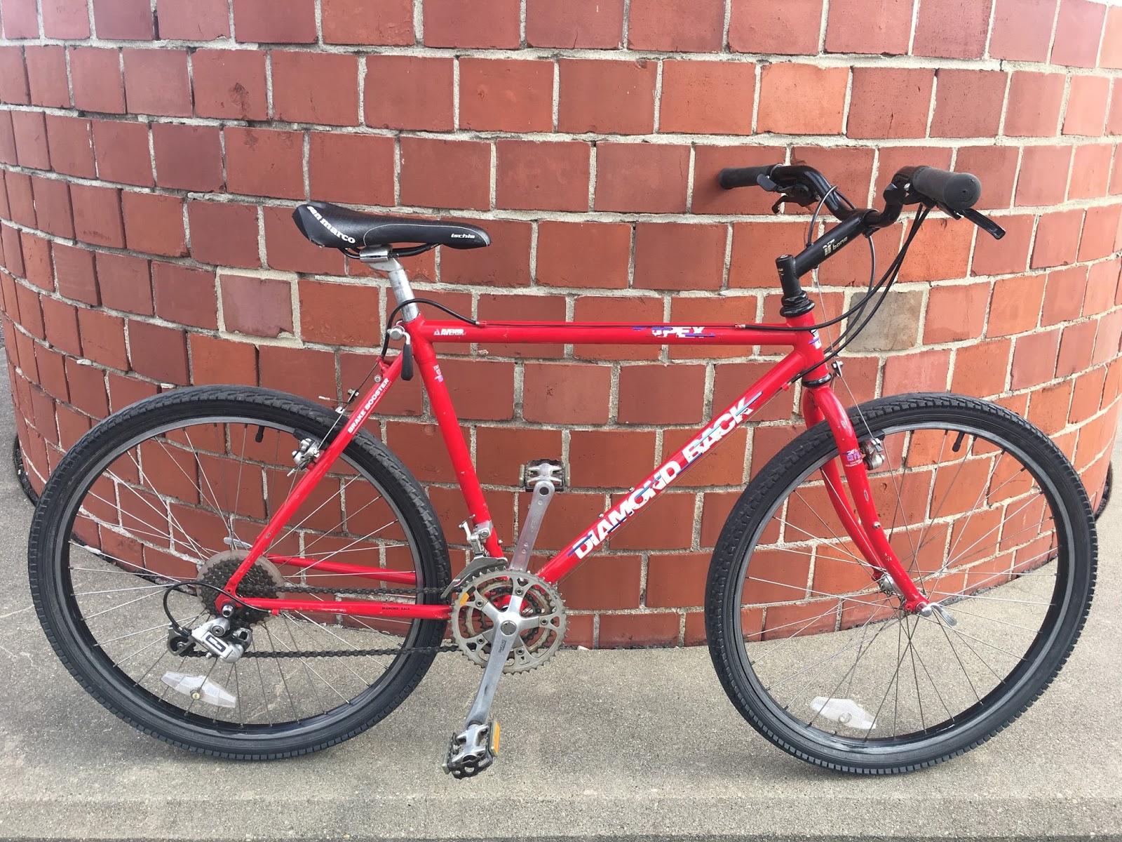 1990 Red Diamondback Apex Mountain Bike SOLD | Whistle Bike Shop