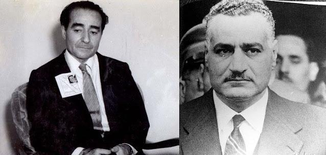 جمال عبد الناصر و عدنان مندريس