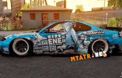 Nissan Silvia S15 Itasha