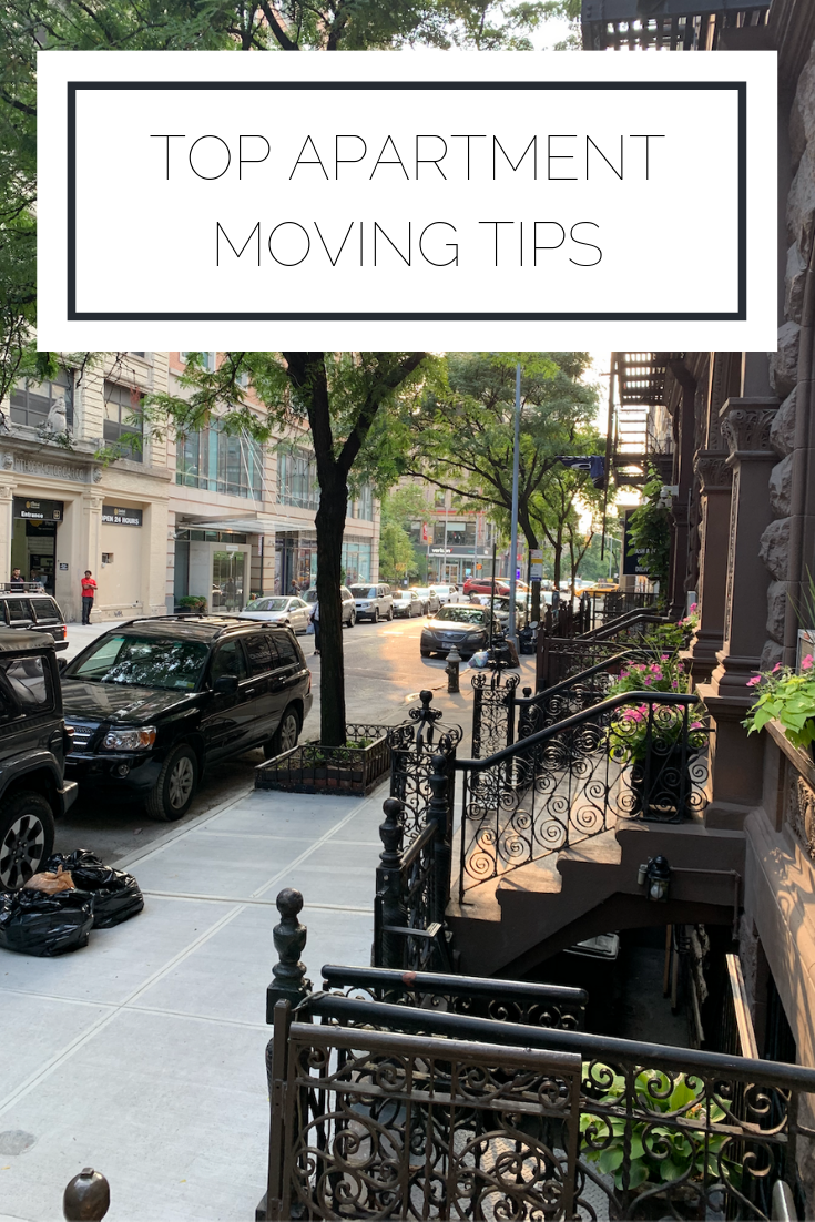 Click to read now or pin to save for later! Here are the top tips I have for moving to an apartment for the first time
