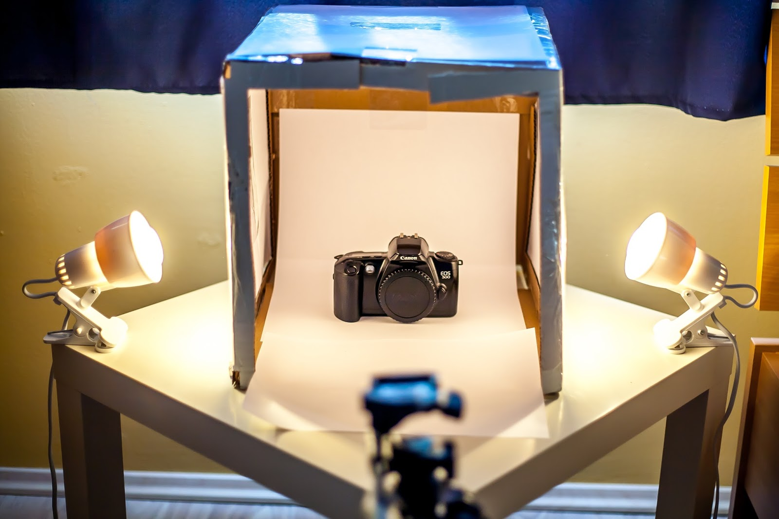 Diy Lightbox For Product Photography