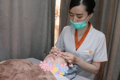 acupressure facial di erha