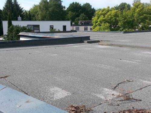tetto piano-impermeabilizzazione