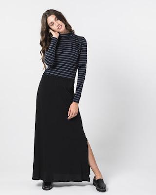 Maxi Skirt tampil cantik dengan jual harga online