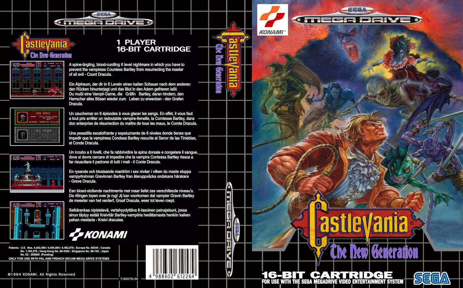 Juegos Antiguos Para Pc Gratis Castlevania The New Generation