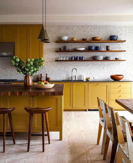 Yellow Ochre is The It Color Of The Summer-design addict mom