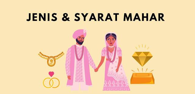 4 Syarat dan 2 Jenis Mahar Pernikahan