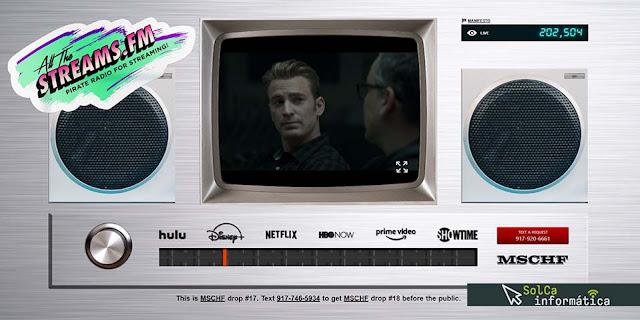 AllTheStreams.fm | Disney+, Netflix y HBO entre otros GRATIS