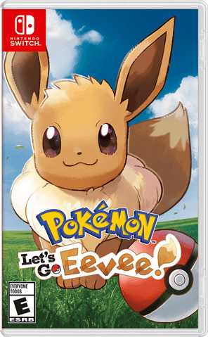 Pokemon Let's Go, Eevee