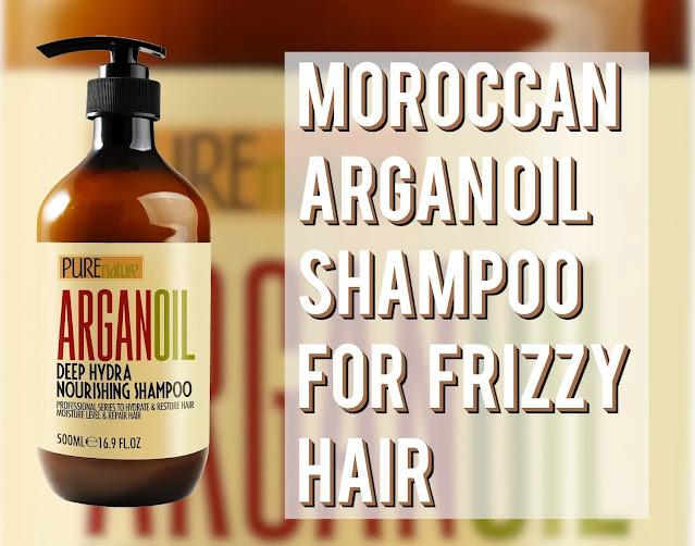 Moroccan Argan Oil Shampoo For Frizzy Hair