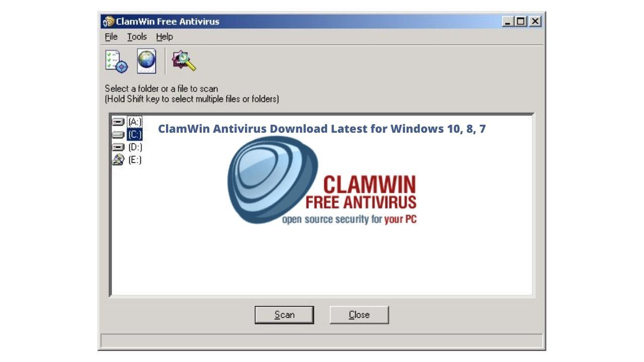 ClamWin Antivirus Download Latest for Windows 10, 8, 7