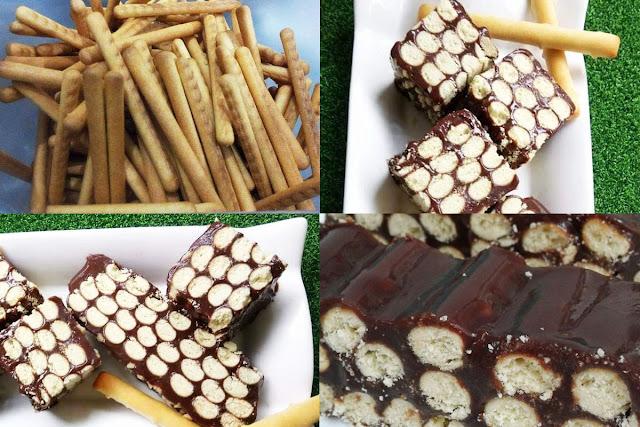 resepi kek batik versi biskut jejari  enak unik  cantik hasilnya rugi tak cuba Resepi Asam Pedas Sarawak Enak dan Mudah