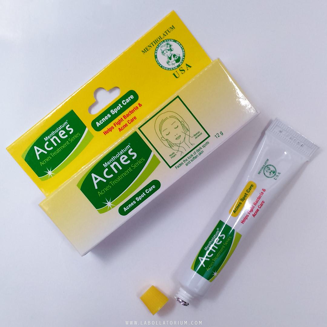 Acnes Spot Care, acne treatment produksi Rohto Indonesia berlisensi Mentholatum USA yang efektif hilangkan bekas jerawat