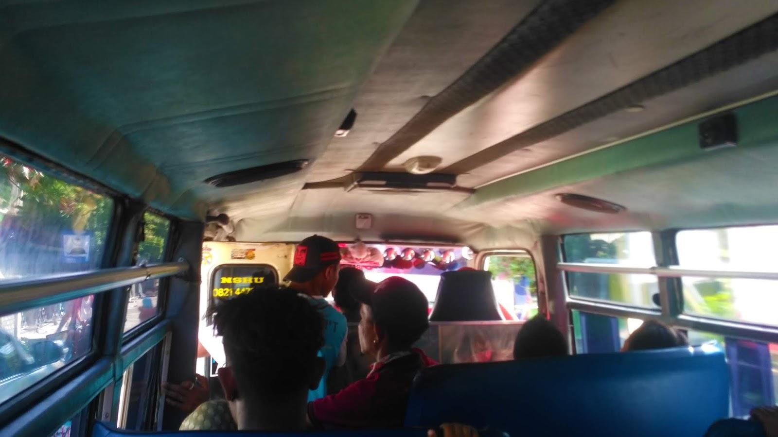 bus menuju bajawa