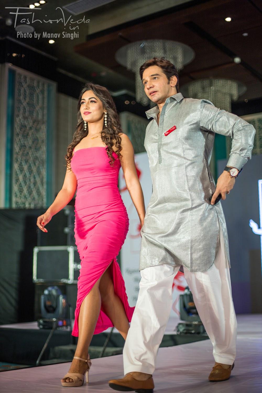 Charvi Tanya Dutta and Gaurav Gaur Judge and Mentor at Elite Miss Rajasthan 2020