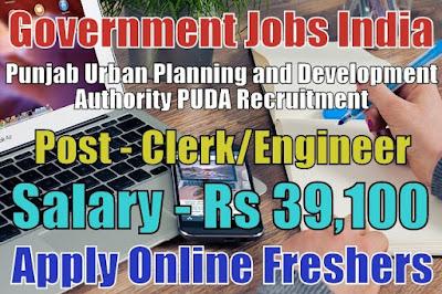 PUDA Recruitment 2018