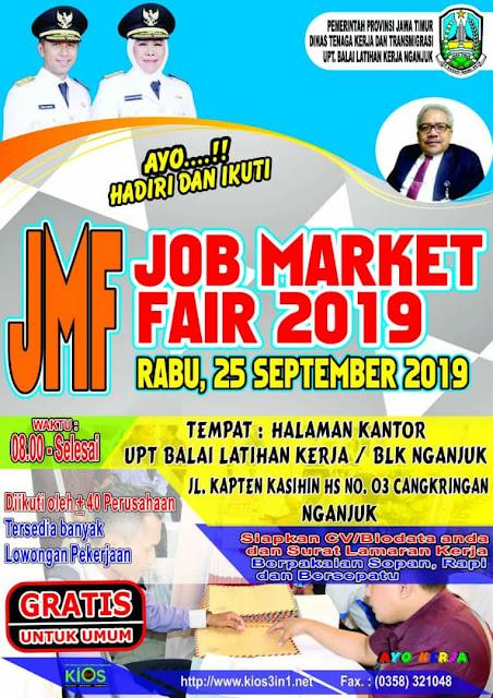 TERBARU 2019 - Jadwal Job Market Fair Nganjuk 2019
