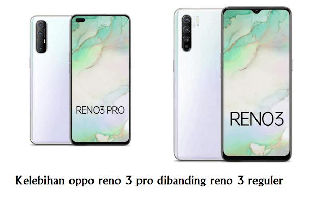 Inilah Kelebihan Oppo Reno3 Pro daripada Oppo reno3 reguler