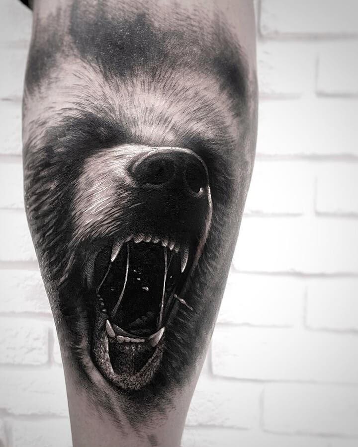 07-Snarling-Bear-tattoo-Saketattoocrew-www-designstack-co