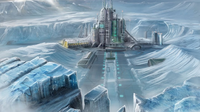 Underground city in Antarctica could be that of The Lost City of Atlantis.