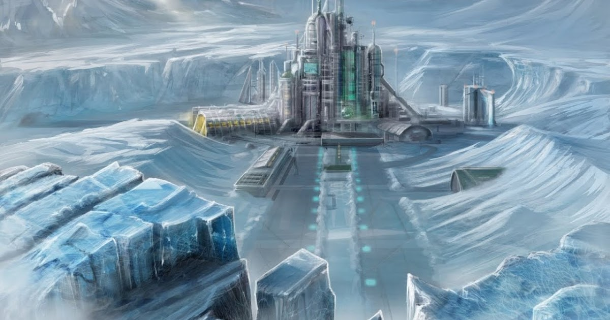 Is The Lost City Of Atlantis In Antarctica Under The Ice