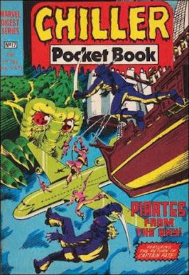 Chiller pocket book #17, Man-Thing