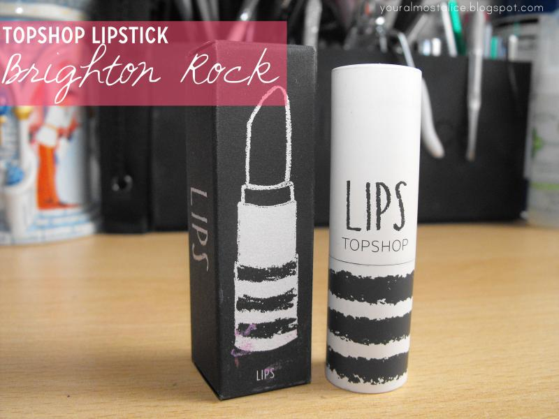 Topshop Lipstick in Brighton Rock