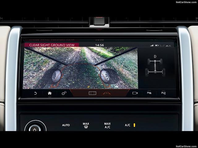 Màn hình 10.2 inch trên Land Rover Discovery Sport có đầy đủ công năng