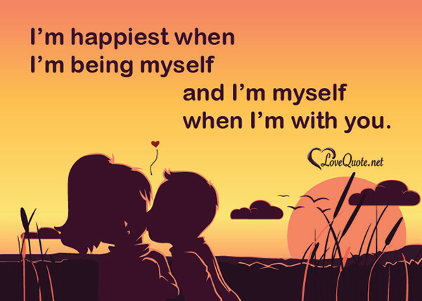 Being myself quote