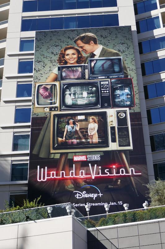 Marvel Studios WandaVision billboard