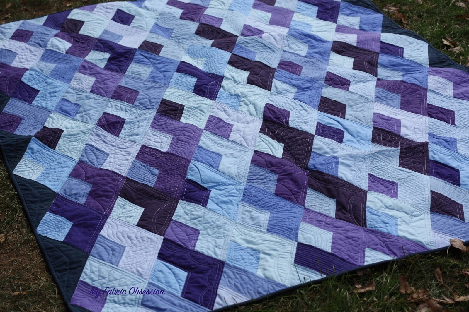 My Fabric Obsession: Boomerang quilt : how to put together a quilt - Adamdwight.com