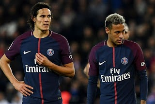 PSG Opens New Offer For Cavani Just To Allow Neymar Take Penalties