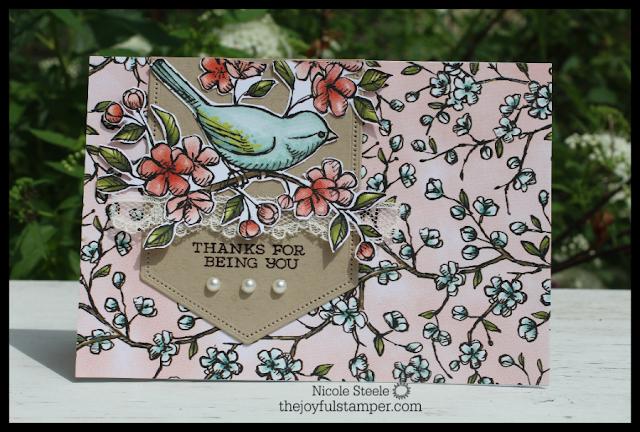 Bird Ballad Notecard 1
