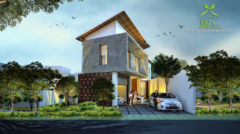 Desain Rumah DH House Karya Pramana Sigit