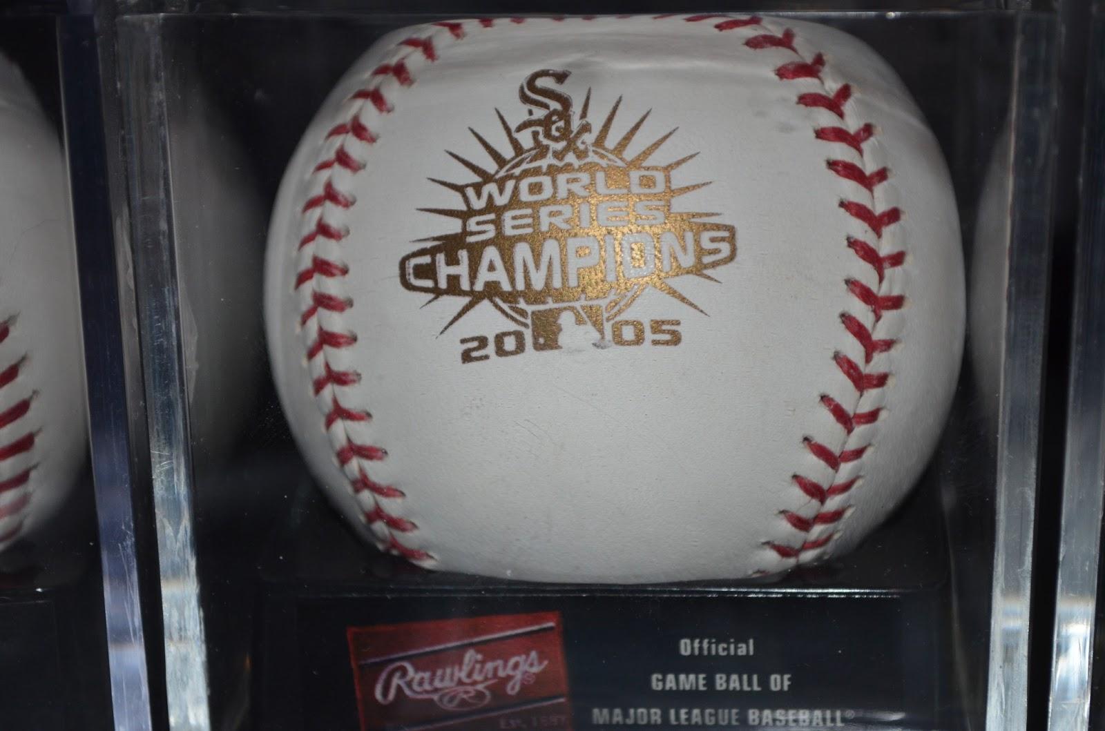 Chi Sox Dugout: Rawlings Baseballs - White Sox Versions