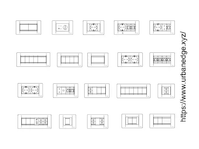 Sockets switches cad blocks free download - 20+ CAD Blocks