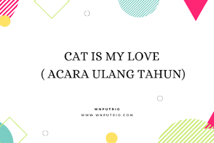 Cat is My Love ( Acara Ulang Tahun)