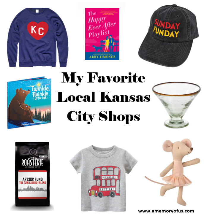 My Favorite Local KC Shops | A Memory of Us
