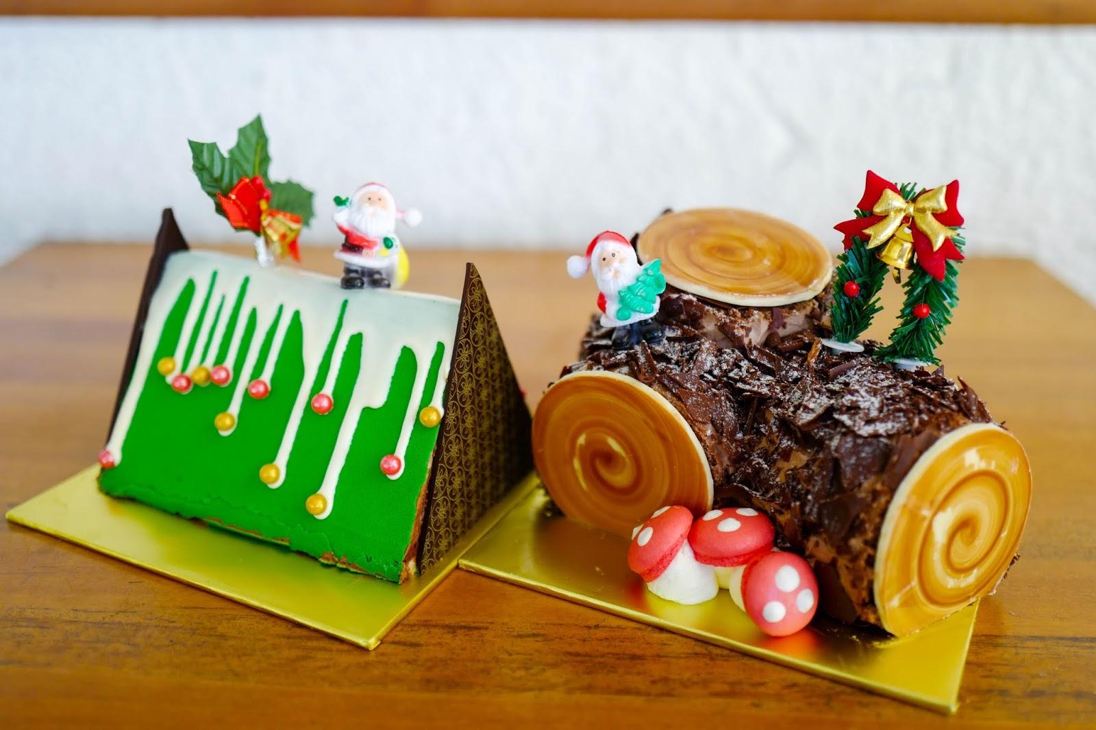 levain boulangerie & patisserie: christmas dinners & cakes