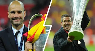 Atletico Madrid boss Diego Simeone pips Pep Guardiola to win world's best coach of the decade award
