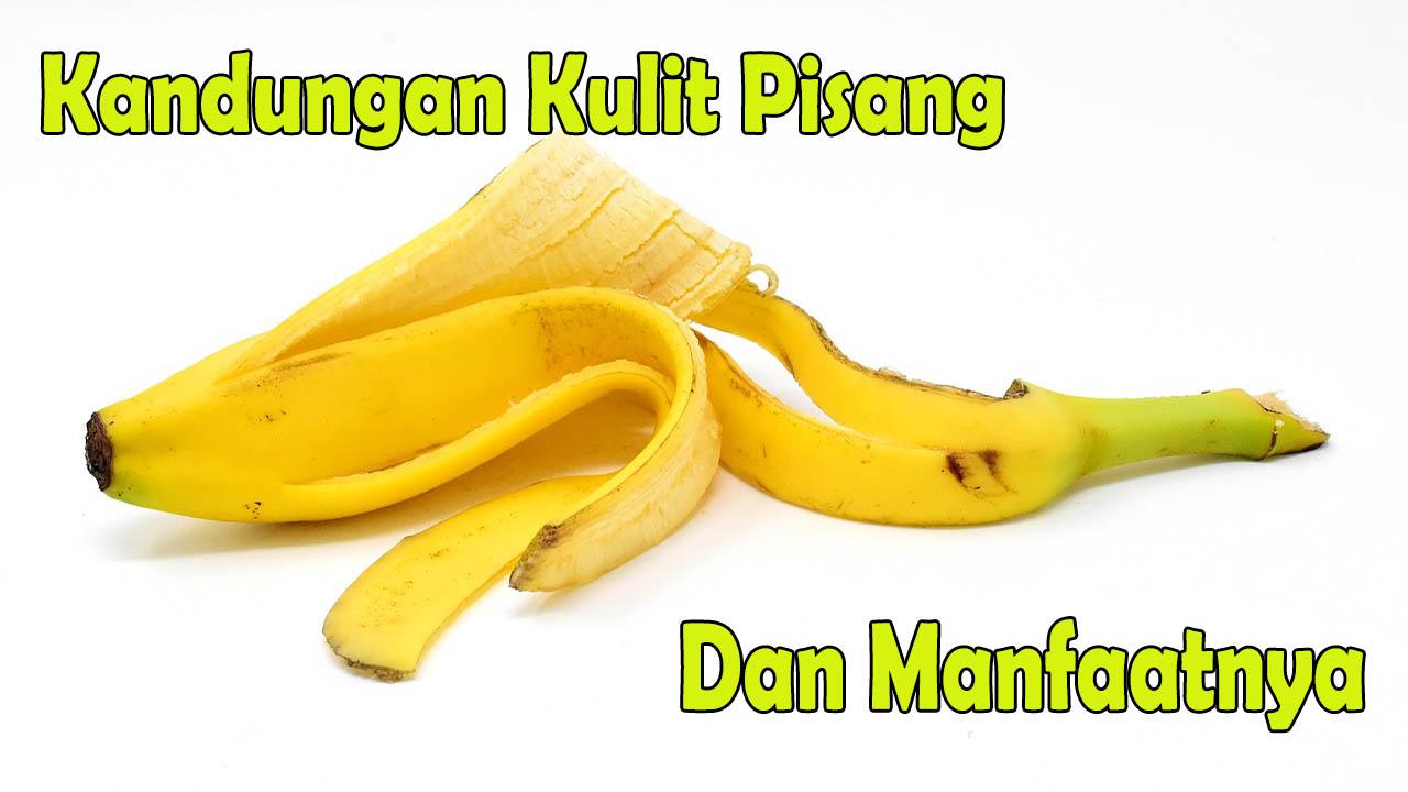 kandungan kulit pisang dan manfaatnya