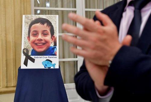 Confirman en España muerte violenta de niño Gabriel Cruz desaparecido desde febrero