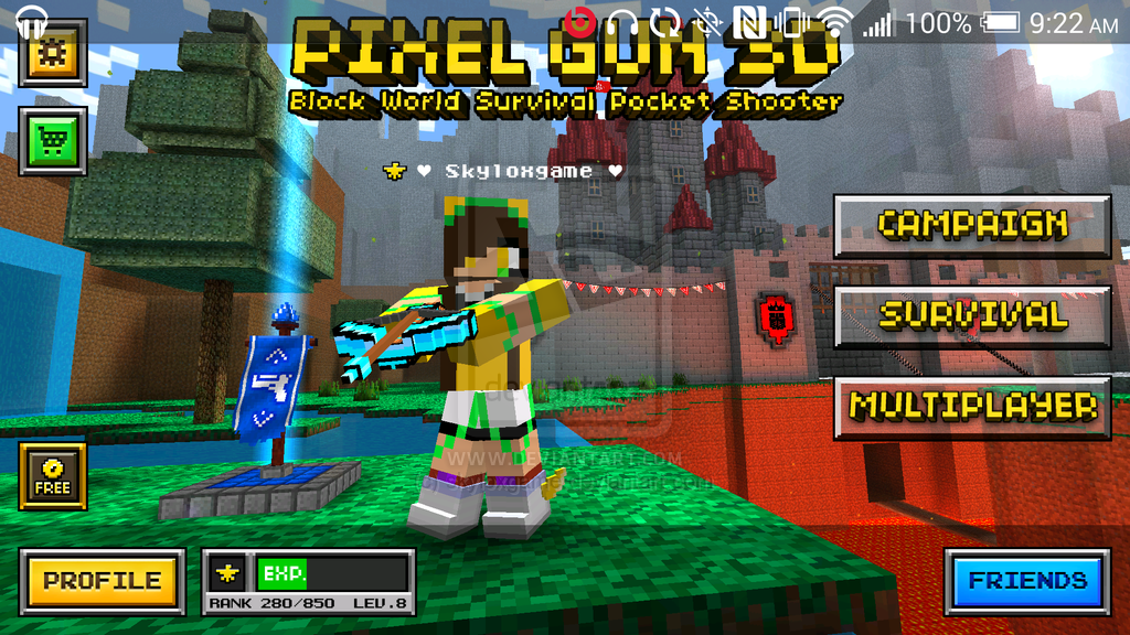 Descargar juego de trucos: Pixel 3D Gun Trucos Hack ToolCopy And Paste Symbols For Pixel Gun 3d
