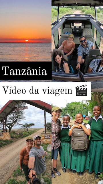 Tanzania video viagem
